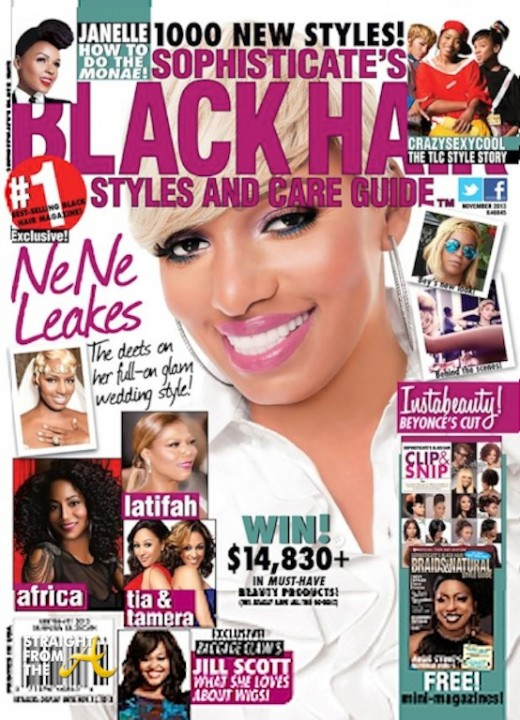 Admirable Nene Leakes39 Versatile Blonde Doo Covers Two Hair Magazines Photos Hairstyles For Women Draintrainus