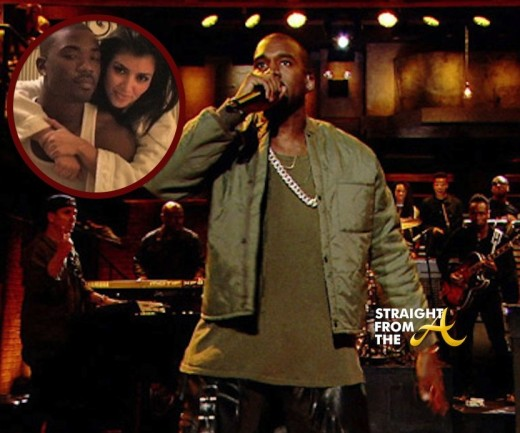 kanye ray j diss straightfromthea