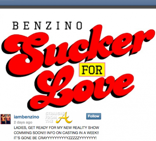 Benzino Sucker for Love Reality Show StraightFromTheA 2