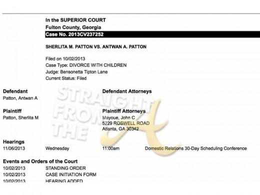Big Boi Divorce Document