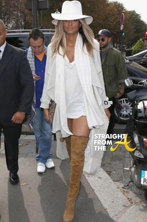 Ciara 2013 Paris Fashion Week SFTA-3
