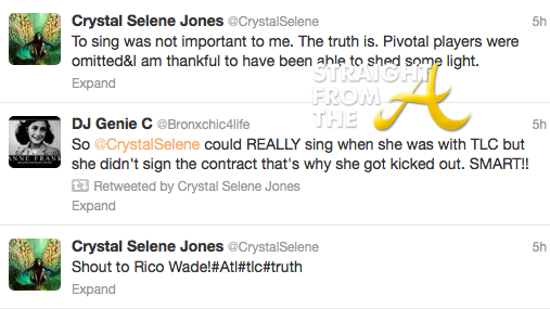 Crystal Jones Twitter
