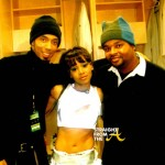 Dallas Austin, Left Eye and Ian Burke