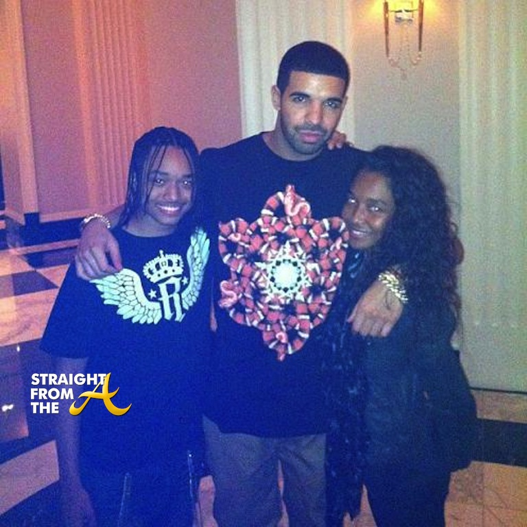 drakechillisontronfamilybond straight from the a