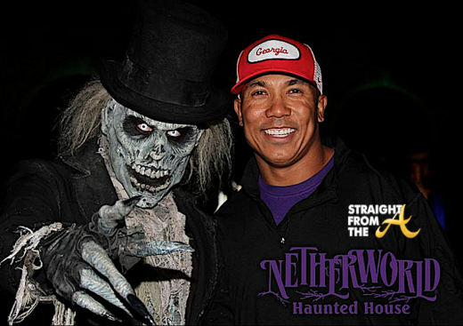 Hines Ward NW Haunted House Atlanta