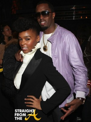 Janelle Monae and DIddy 1