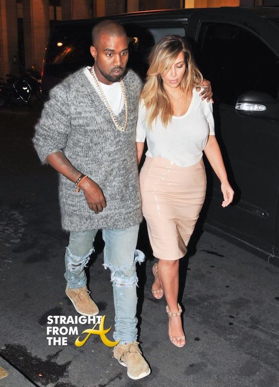 Newsflash Kanye And Kim Kardashian Are Officially Engaged Peep The