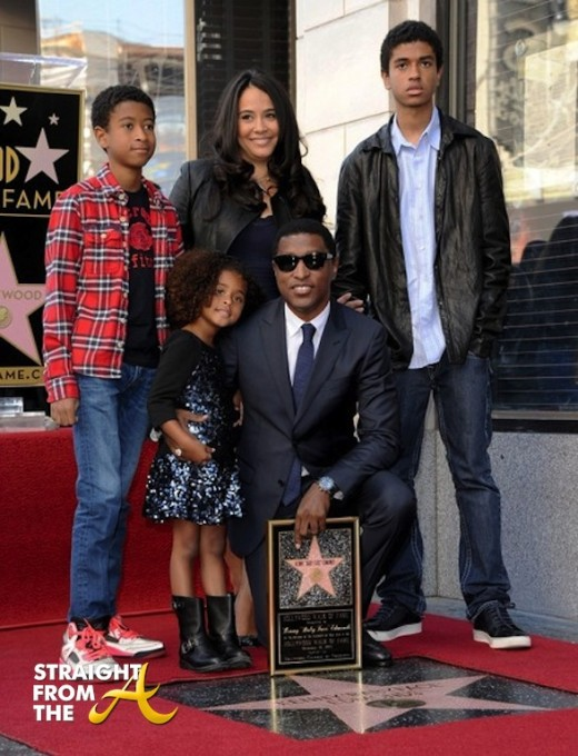 Kenny Babyface Edmonds Walk of Fame 2013 17