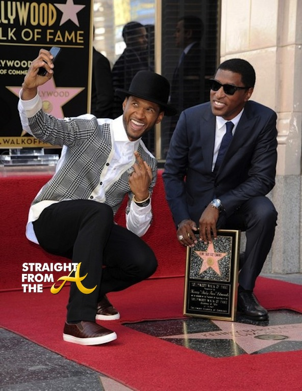 Kenny Babyface Edmonds Walk of Fame 2013 4