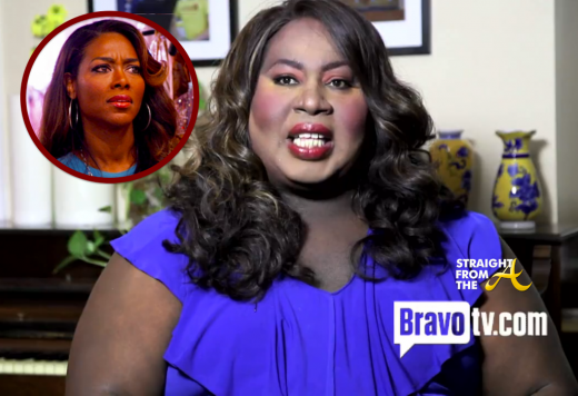 Kenya Moore DragWives StraightFromTheA