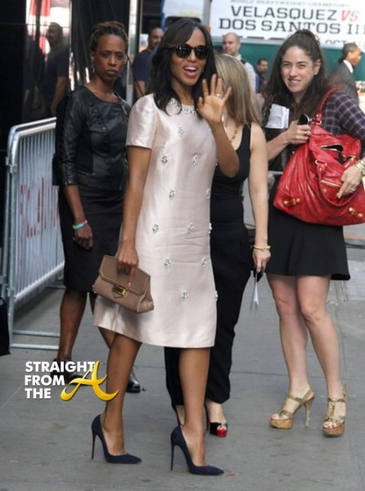 Kerry Washington Good Morning America SFTA 5