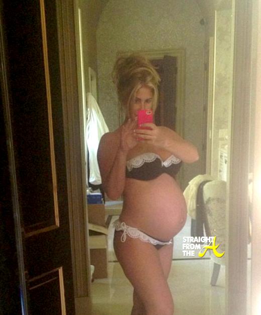 Kim Zolciak Pregnant 2013 StraightFromTheA 2