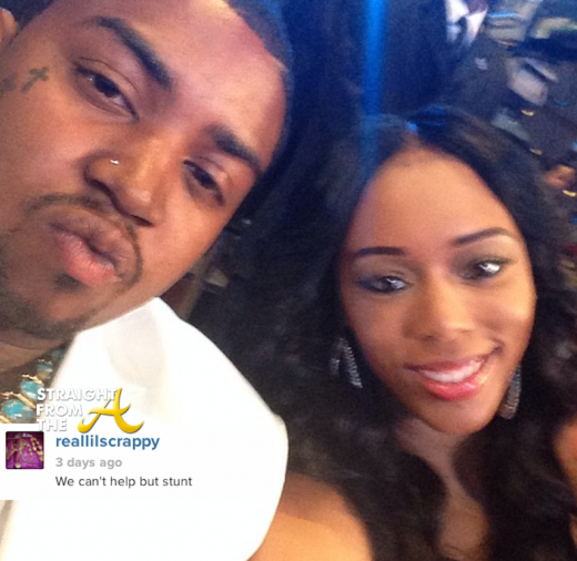 Lil Scrappy Bambi 2013 BET HipHop Awards StraightFromTheA 6