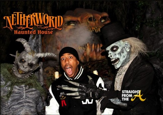 Ludacris Netherworld Haunted House Atlanta1