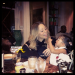 Mariah Carey and Daughter StraightFromTheA