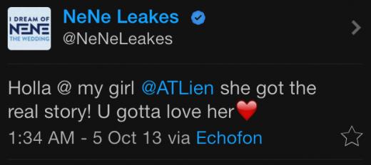 Nene tweet 4