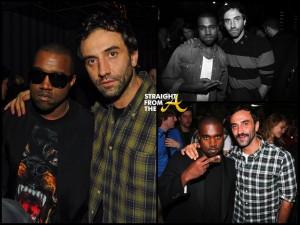 Riccardo Tisci and Kanye 4