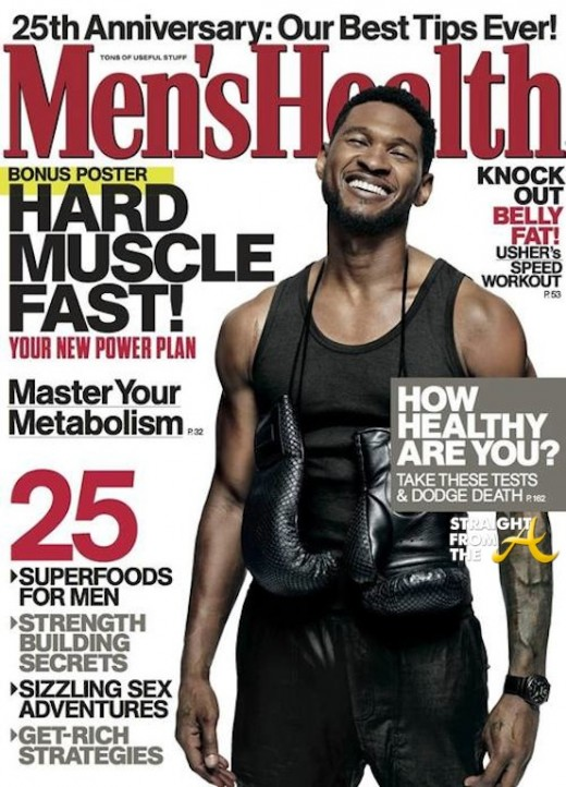 Usher Mens Health 2013 2