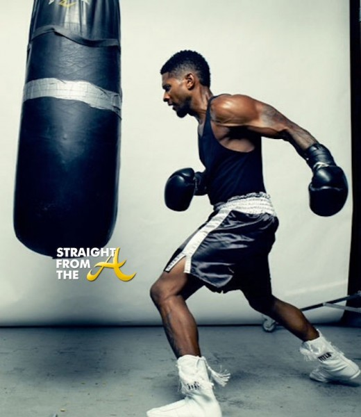 Usher Mens Health 2013 3