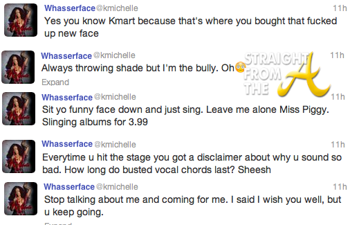 In The Tweets: Whasserface vs. Tamar Braxton – The Battle ... K Michelle And Memphitz Twitter Beef