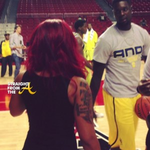 K Michelle And Lance Stephenson Whasserface aka KMichelle Lance Stephenson StraightFromTheA 1