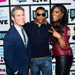 Porsha Stewart & Nelly Appear on 'Watch What Happens LIVE!' [PHOTOS + VIDEO]