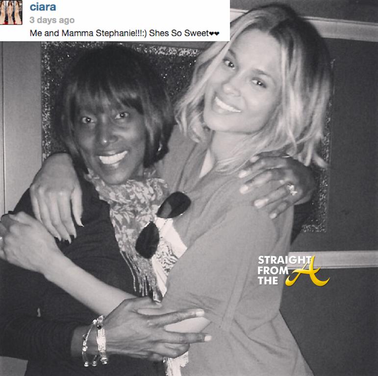 Ciara and Future's Mom StraightFroMTheA