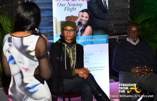 Cynthia Bailey Peter Thomas Book Launch Bar One StraightFromTheA-7