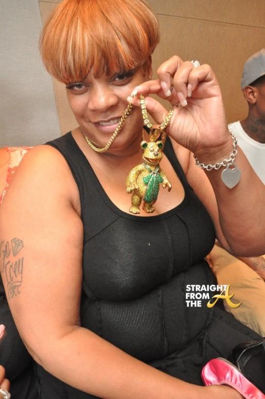 Deb Antney Gucci Chain StraightFromTheA
