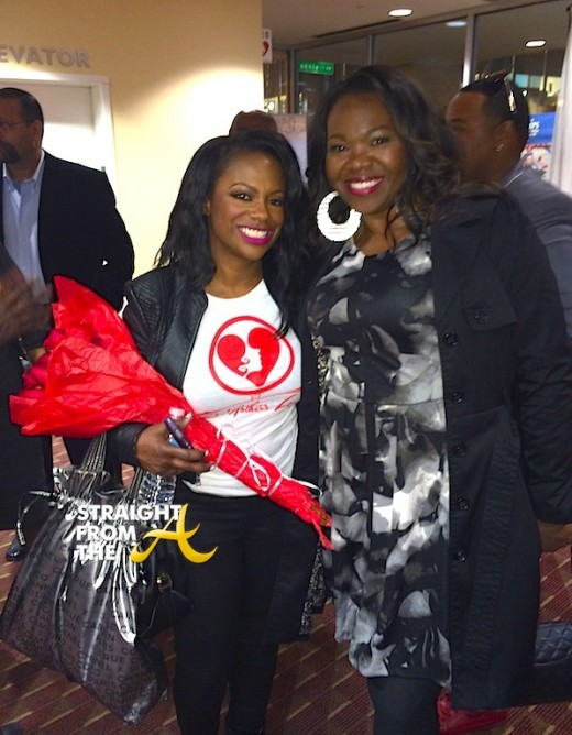Kandi Burruss Michelle ATLien Brown StraightFromTheA 2013