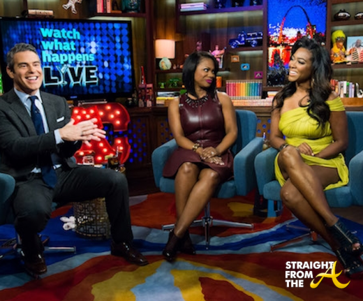 Kandi and Kenya on WWHL 7