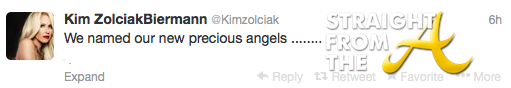 Kim Zolciak Twins Tweet