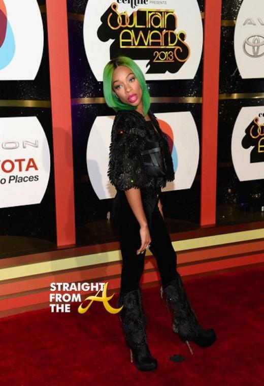 Lil Mama 2013 Soul Train Awards 1