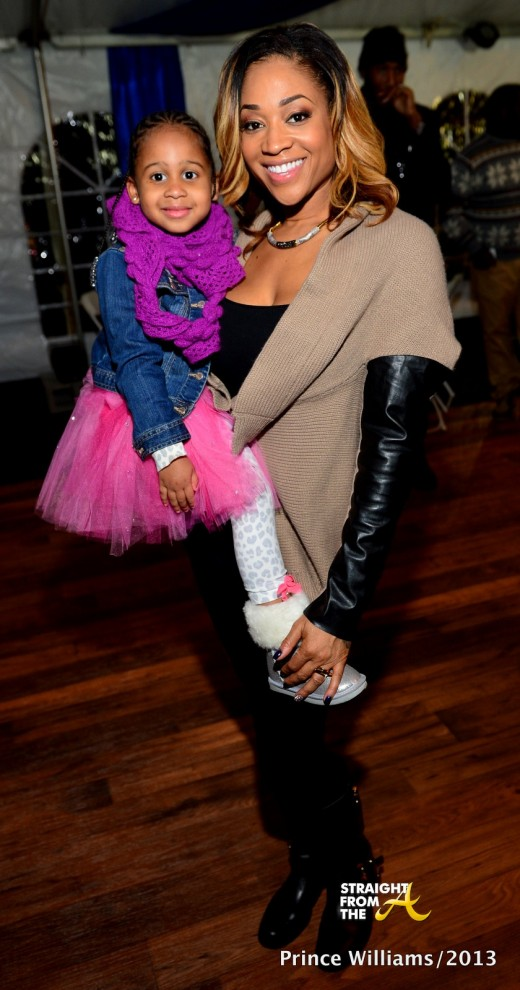 Mimi Faust and Daughter Ava SFTA 1