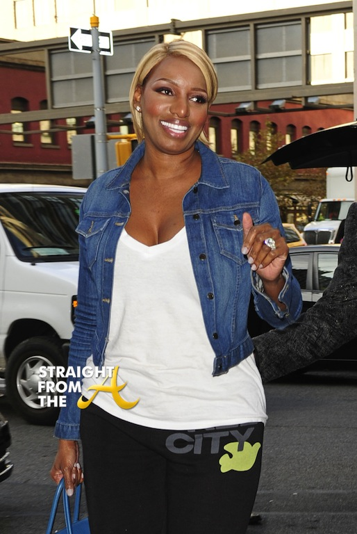 NeNe Leakes and husband Gregg arrive at the Trump SoHo hotel in New York City