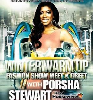 Porsha Stewart Flyer