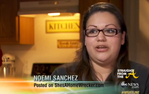 ShesAHomeWrecker Noemi Sanchez StraightFromTheA