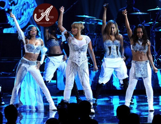 TLC Lil Mama Waterfalls America Music Awards 2013