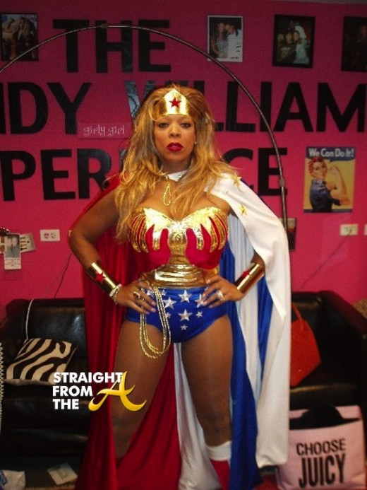 Wendy Williams Halloween 2013