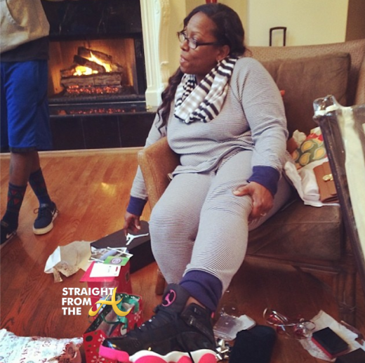 Big Boi Mama Rena Christmas 2013