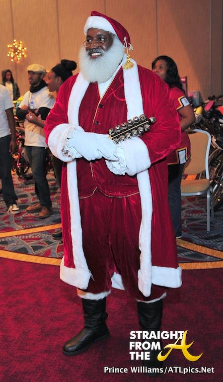 Black Santa 2013