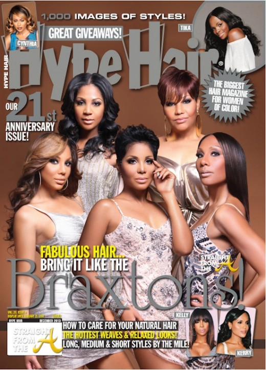 Hype Hair December 2013 Braxtons