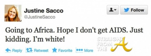 Justine Sacco Aids Twitter StraightFromTheA