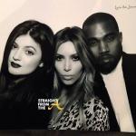 Kim and Kanye Christmas 2013 2