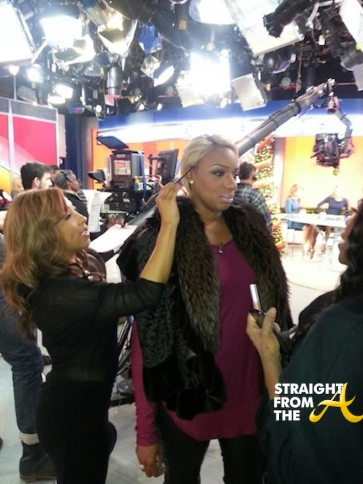 Nene Leakes Good Morning America December 2013 StraightFromTheA 3