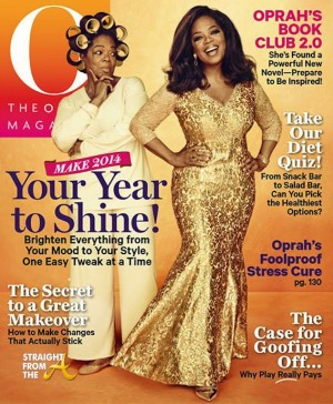 Oprah Winfrey Turns 60 O Magazine 2014 2