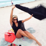 Porsha Miami Christmas 2013