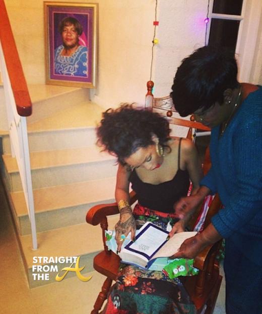 Rihanna Christmas 2013 3