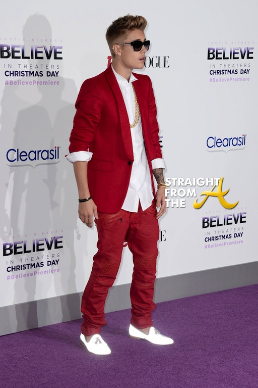 Usher Justin Bieber Premiere 2013-14