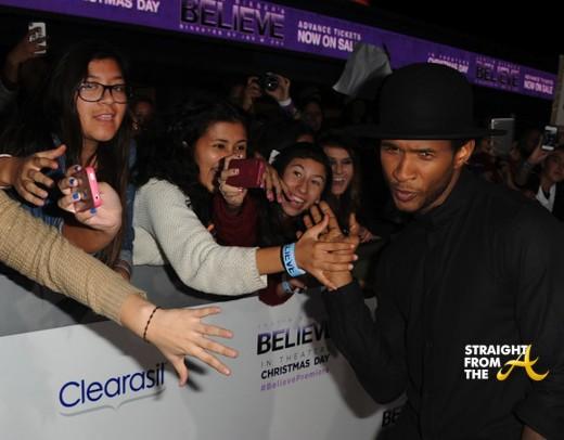 Usher Justin Bieber Premiere 2013-4